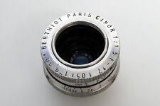 SOM Berthiot Cine Lenses (3 lenses) 17mm f1.5, 25mm f1.5, and 75mm f3.5 C Mount