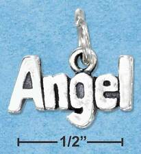 """STERLING SILVER """"ANGEL"""" CHARM WITH A NEW NECKLACE"""