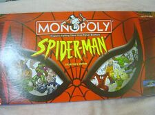 Spider-Man Collector'S Edition Monopoly Excellent Used Condition Complete 2002