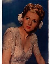 Lovely JOAN FONTAINE Signed Photo - 11 x 14