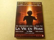2-DISC SPECIAL EDITION DVD / LA VIE EN ROSE ( MARION COTILLARD... )