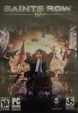 Saints Row IV 4 PC Game NEW factory sealed