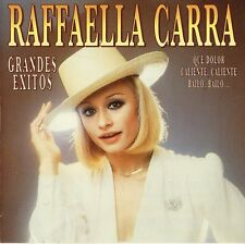 "RAFFAELLA CARRA ""GRANDES EXITOS"" SPANISH CD SUNG IN SPANISH / EDIZIONE SPAGNOLA"