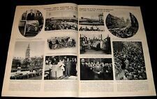 PRINCE OF WALES 1932 BELFAST ULSTER IRELAND PICTORIAL FUTURE DUKE OF WINDSOR