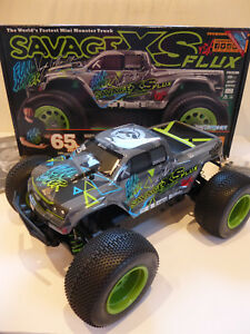 HPI 1/12 Savage XS Flux Vaughn Gittin Jr. RTR #H115967, NEU, OVP