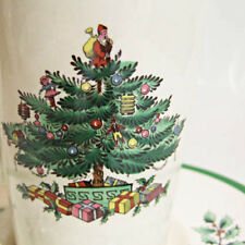 """CHRISTMAS TREE by Spode Cream Soup Saucer 7.25"""" NEW NEVER USED made in England"""