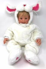"""L Middleton Tom Arma  Easter Bunny Outfit Baby Doll Reva Schick 22""""  #672/1000"""