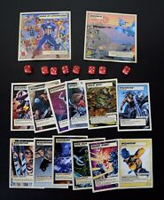 Marvel Legends Superhero Showdown Cards and Dice lot by Toybiz!