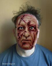 Hombres miedo Cara LUJO Látex Disfraz de terror halloween zombie Maske Máscara