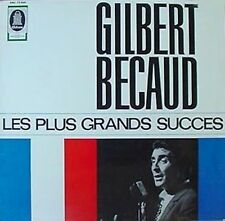GILBERT BECAUD -LES PLUS GRANDS SUCCES- EMI/COLUMBIA LP
