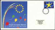 GB FDC 1992 Single European Market, Stevenage FDI  #C39424