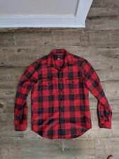 J.Crew Mens Flannel Check Work Shirt Size M