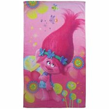 Cti trolls Poppy – toalla de playa Algodón Rosa 70 X 120 cm.