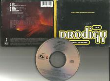 THE PRODIGY Fire EDIT 5TRX w/ 2 RARE MIXES & UNRELEASED TRX USA Press CD single