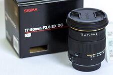 Sigma 17-50mm F/2.8 EX DC OS HSM Zoom Lens Nikon F Mount