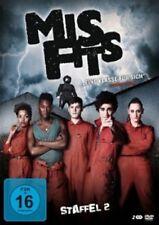MISFITS-STAFFEL 2 (IWAN RHEON/ROBERT SHEEHAN/LAUREN SOCHA) 2 DVD NEU