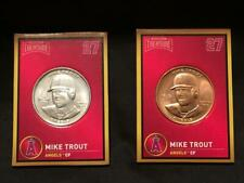 2018 Baseball Treasure Coins COMBO Mike Trout (Silver) ONLY ONE ON EBAY -RARE!