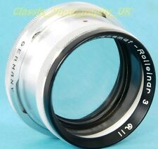Rolleiflex R11 (Bay 2) HEIDOSMAT-Rolleinar 3 Close-Up Lens for Rolleiflex TLR