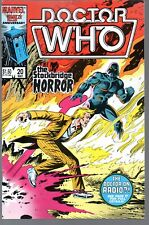 Doctor Who 20      Marvel 1986