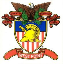 Army West Point Crest Decal