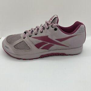 Reebok Women's Crossfit Nano 2.0 Training Shoe Lavender Luck Purple Size 8