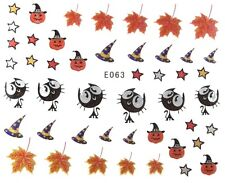 Accessoire ongles : nail art , scrapbooking - Stickers autocollants Halloween