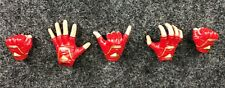Hot Toys 1/6 MMS521 Captain Marvel - Red Gloved Hands Set MMS522