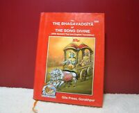 Shrimad Bhagavad Gita Geeta Gita Press English Edition Hindu Holy Book Free Ship