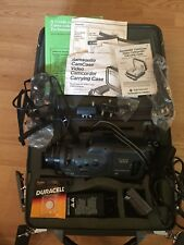 Canon E51A 8mm Camcorder Lots Of Accessories Samsonite Hardshell Case