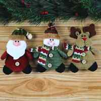 Merry Christmas Ornaments Festival Party Xmas Tree Decor Hanging Decoration Doll