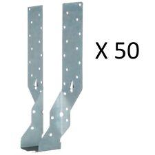 """50 X  JIFFY JOIST HANGERS 50MM (2"""") TIMBER HANGERS STANDARD LEG"""