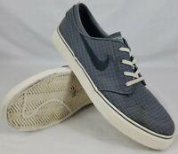 Nike SB Zoom Stefan Janoski Skate Shoes Gray Size 10 Men's
