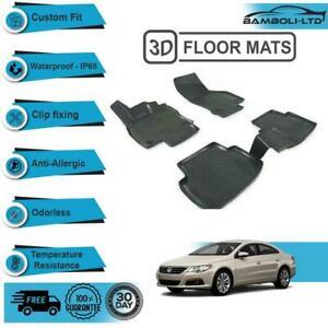3D Floor Mats Liner Interior Protector Fit for Volkswagen Passat CC 2008-2015