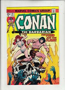 Conan the Barbarian #44 (Marvel 1974) Roy Thomas John Buscema Red Sonja Fine-