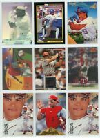 TEXAS RANGERS STAR/HOF Baseball Card Lot - 32 Cards - IVAN RODRIGUEZ, GONZALEZ