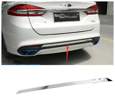 FIT For Ford Fusion 2013 2014 2015 2016 Stainless Chrome Rear Bumper Trim 2PCS