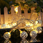 Warm White 20-300LED Fairy String Lights Lamp Curtain Party Wedding Xmas Decor