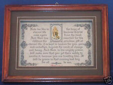 "NOW WE LIVE IN HOPE OF ETERNAL LIFE""Bible Verse Plaque~Christian Get Well Gifts"