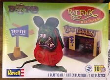 Revell 1/25 Rat Fink with 1/25 Diorama Plastic Model Kit 85-6732