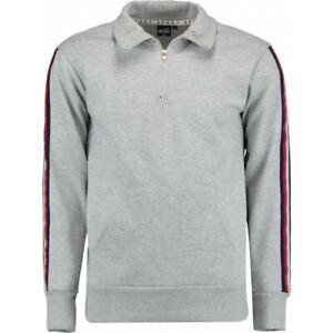 Herren Sweat-Shirt Pullover HAILYS men mit Zipverschluss