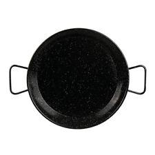 100% Genuine! DAVIS & WADDELL Esmaltada Terra Enamel Paella Pan 30cm!
