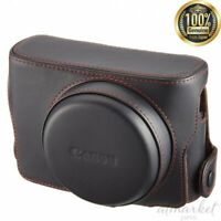 Canon Soft case CSC-G3BK Camera Supported devices G1 X Mark II from JAPAN