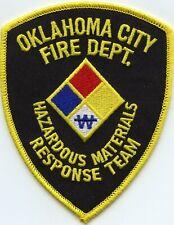 OKLAHOMA CITY OKLAHOMA OK Hazardous Materials Response Team HAZ MAT FIRE PATCH