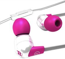 NEW SMS Audio SMS-PD-EB-002 DJ Pauly D Wired In-Ear Headphones - White and Pink