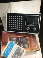 VINTAGE RADIO SOLUS 2-BANDS MW(-AM) -LW 1960S-1980s RARE Electric and Battery
