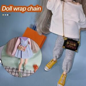 Haversack Sewing Dress Clothes Collocation DIY Bag Metal Chain Doll Accessory