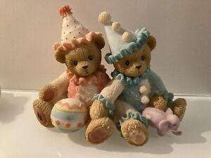 Cherished Teddies Circus Range Palmer & Charlene 786586 Clowning Around