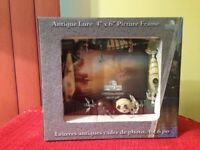 RIVERS EDGE FISHING LURES 3D Picture Frame for 4x6 Photo NEW