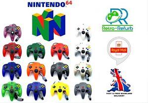 N64 Nintendo 64 Controller Joystick Pad Controllers For N64 - Retro-Refurb UK