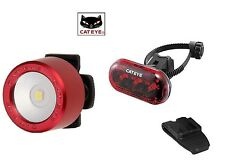 BIKE BICYCLE CATEYE FRONT & REAR LIGHT SET NEW IN THE BOX